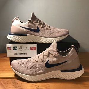Nike Epic React Flyknit 'Diffused Taupe' Size 10.5
